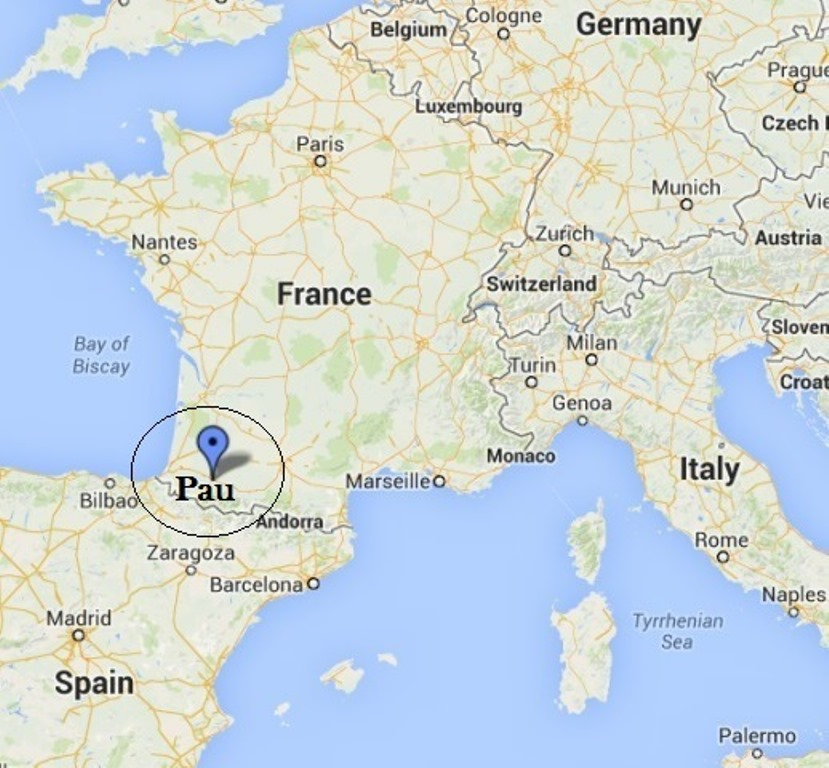 Pau%2C+France%2C+is+located+in+the+Southwest+region+of+the+country%2C+near+Spain.