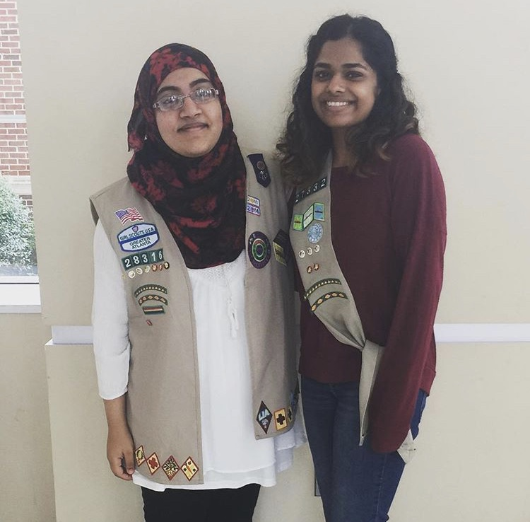 Milton girl scouts recognized in state-wide award