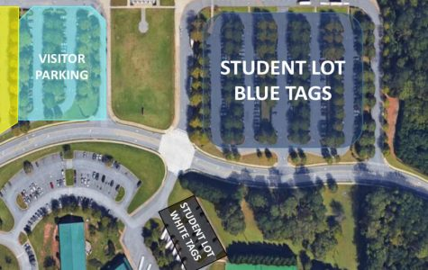 Changes in the Milton parking lots