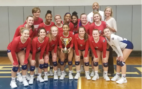 Milton Eagles Varsity Volleyball heads to State Championship