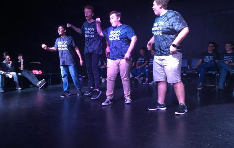 "Milton Improv pulls inspiration from ""The Office"" for recent show"
