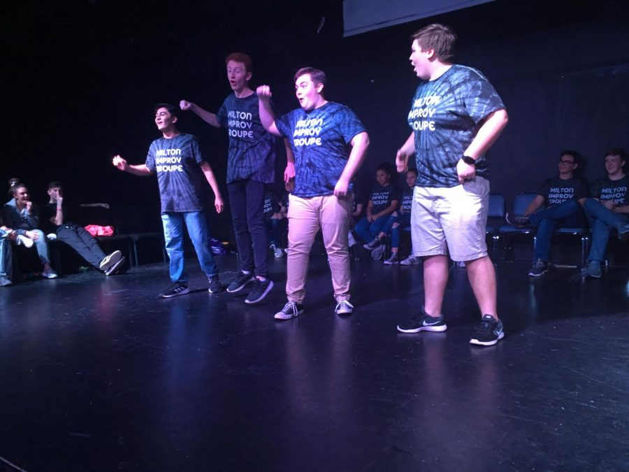 Milton Improv pulls inspiration from