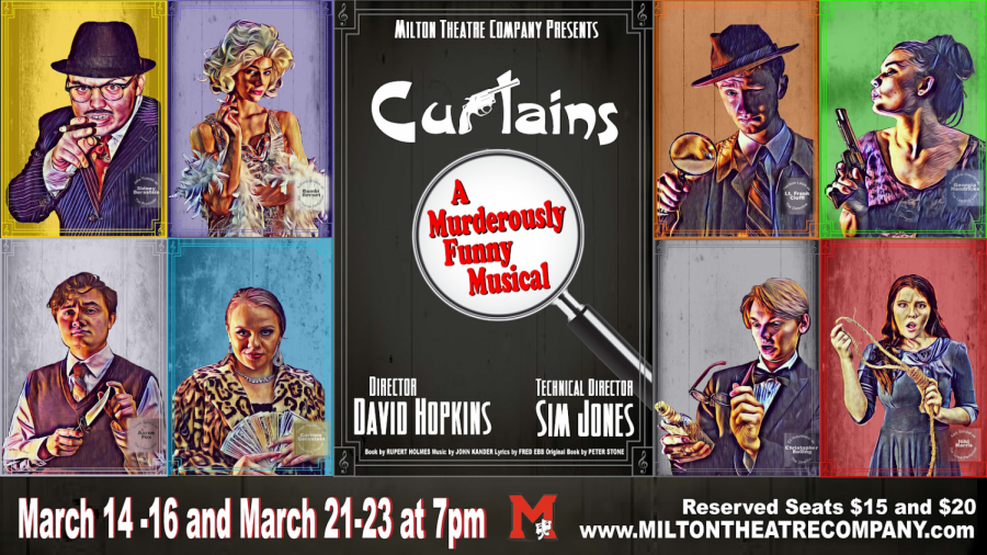 "Milton Theatre Company presents ""Curtains"""