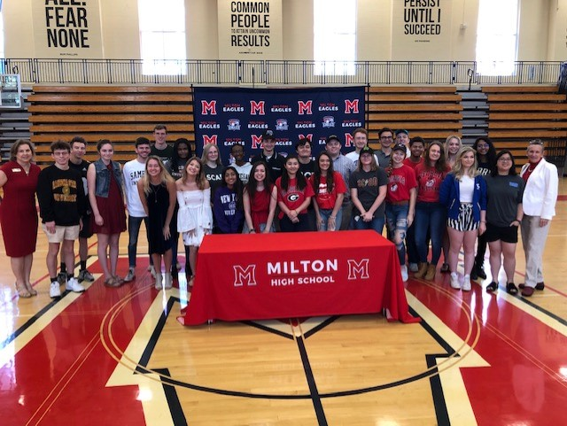 Milton%27s+Fine+Arts+Signing+Day