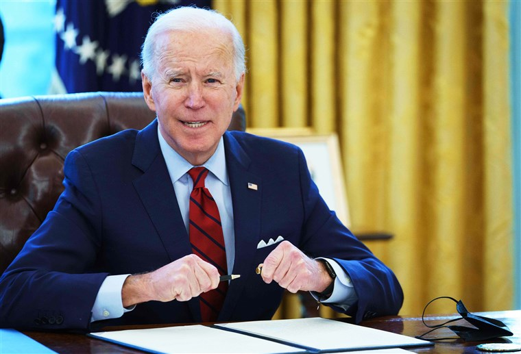 The Biden administration; a progress report